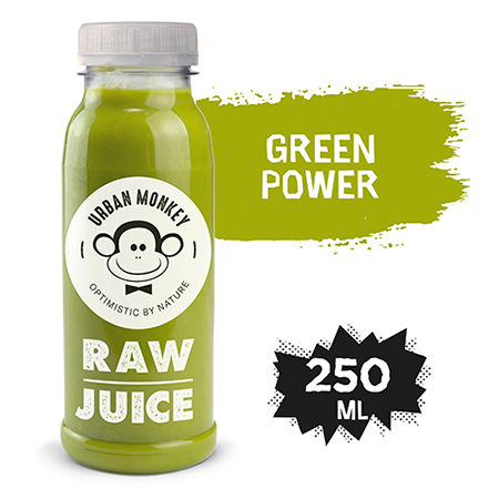 Urban Monkey Raw Sok Green Power 250 ml - Odkryj portfolio Urban Monkey!