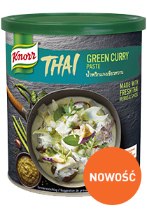 Zielona pasta curry Knorr 0,85kg