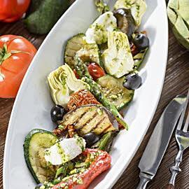 Antipasti warzywne z ricottą