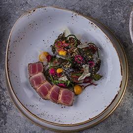 Sałatka z tuńczyka i wakame