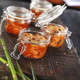 Sałatka ze sfermentowanego kimchi