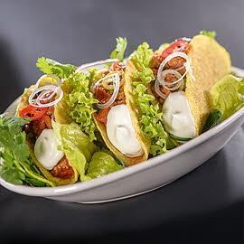 Tacos de chili con carne