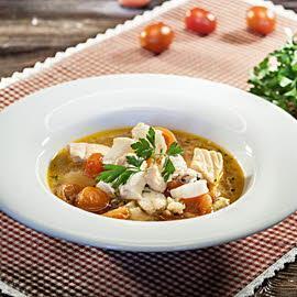 Wykwintna zupa rybna