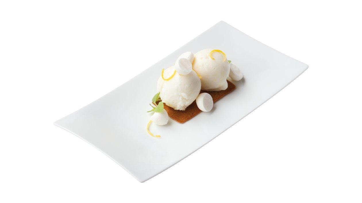 Cytrynowe ciastko z bezami