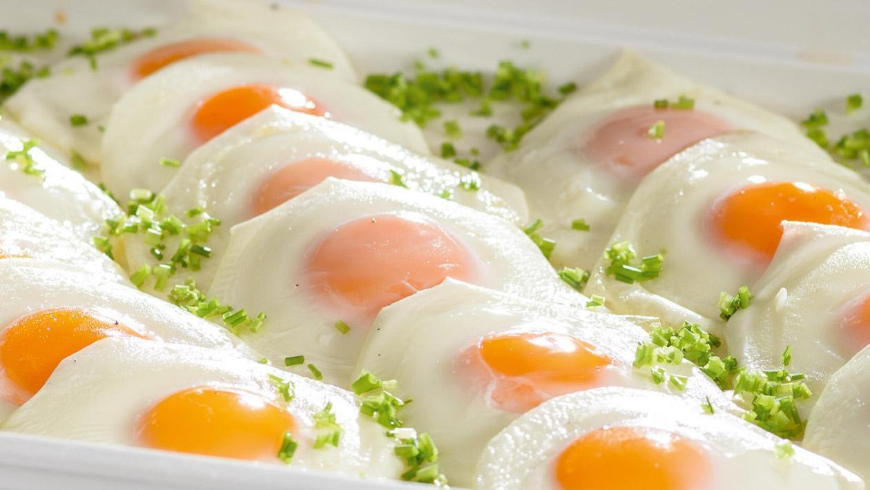 Jajka sadzone z pieca