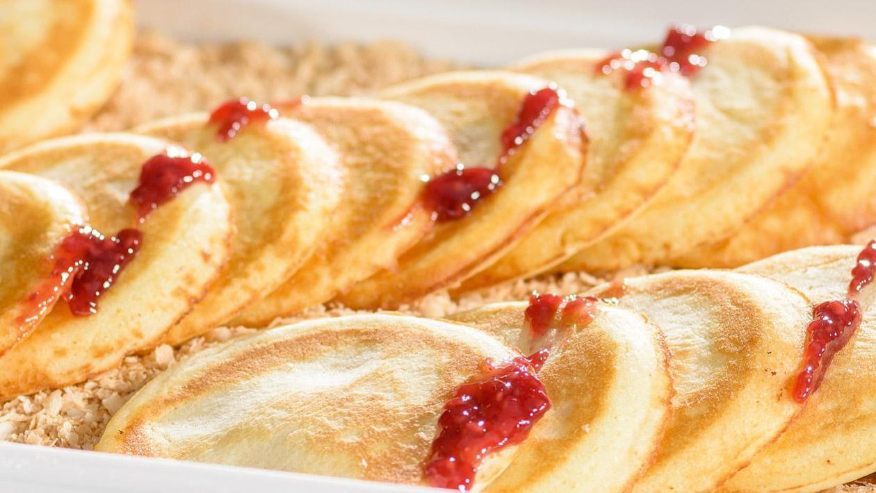 Naleśniki biszkoptowe – pancakes