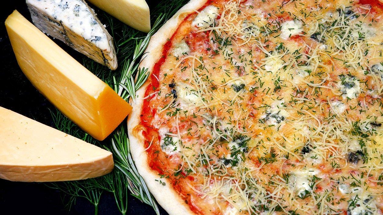 Pizza Quattro Formagi – cztery sery
