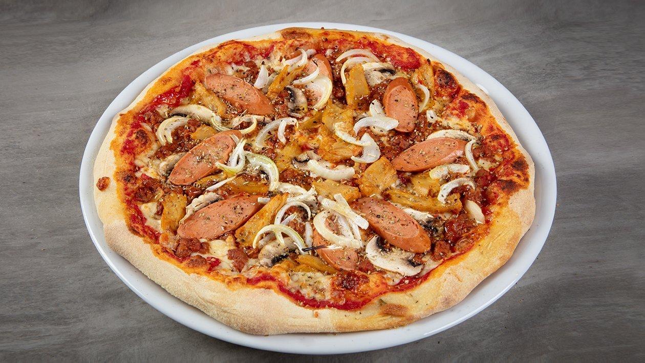 Pizza Rzeźnicka wegańska
