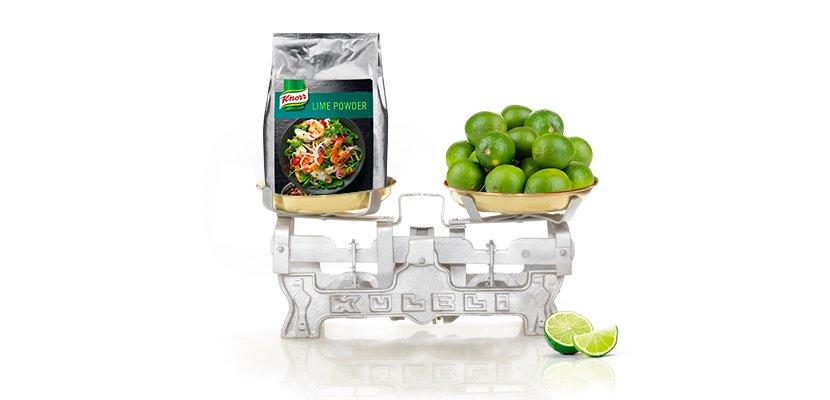 Knorr Lime Powder 500 g - 500g - so ergiebig wie 80 frische Limetten