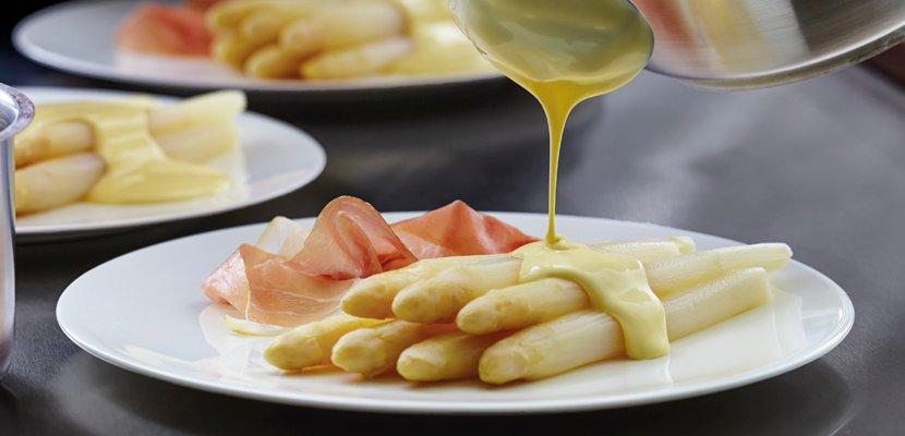 """Knorr Sauce Hollandaise 1 L - """"Meine Gäste lieben meine Sauce Hollandaise."""