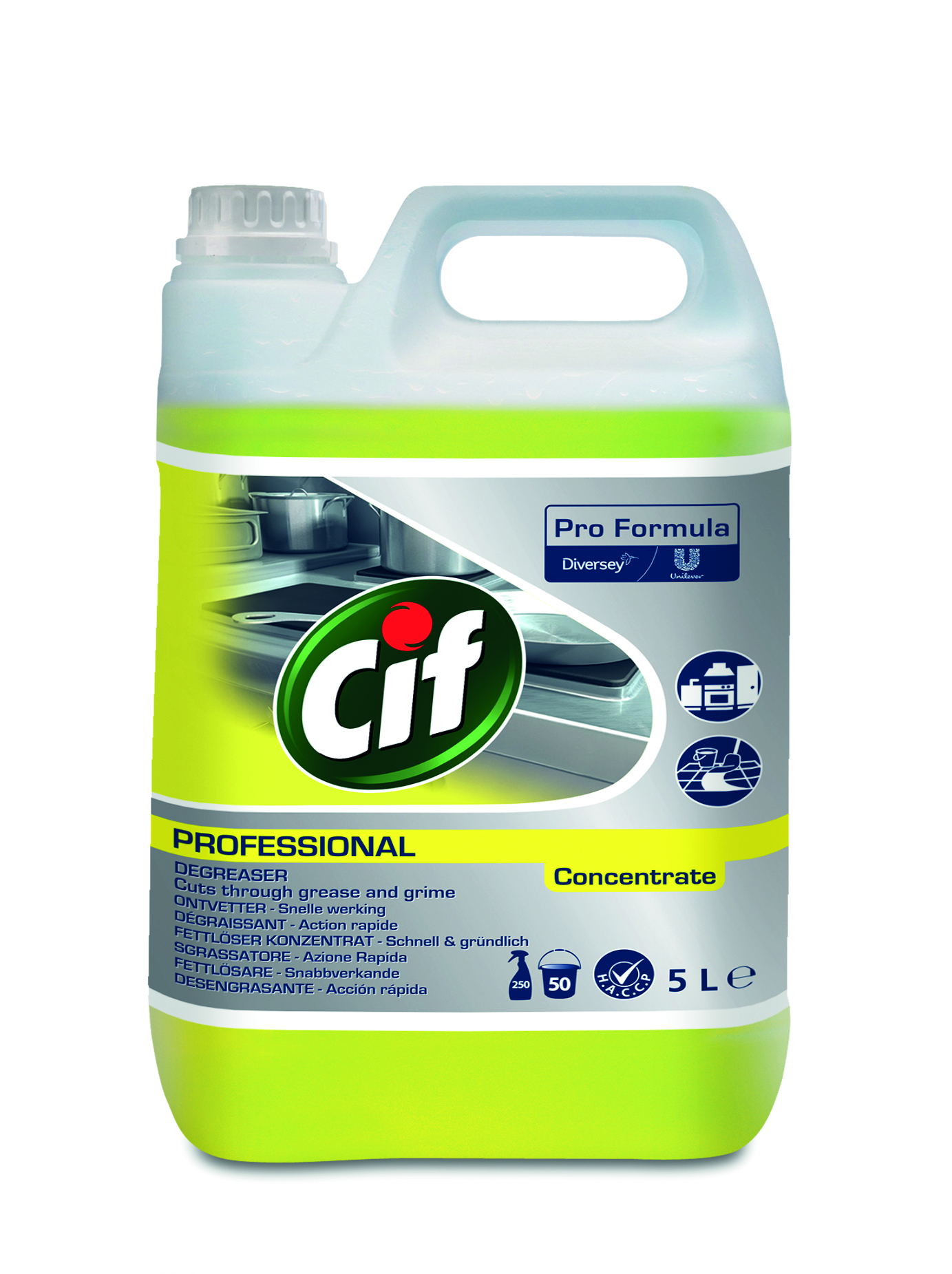 Cif Professional Power Fettlöser Konzentrat 5 L