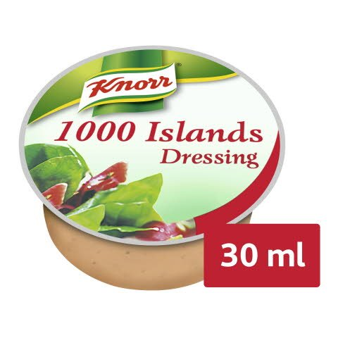 Knorr 1000 Islands Dressing 1,5 L (50 x 30 ml) -
