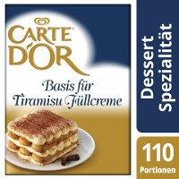 Carte D'Or Basis für Tiramisu Füllcreme 1,8 KG -