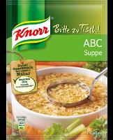 Knorr Bitte zu Tisch! ABC Suppe 4 Teller -