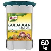 Goldaugen Rindsuppe 60 kg Rolleimer - Knorr Goldaugen Rindsuppe – das österreichische Original.