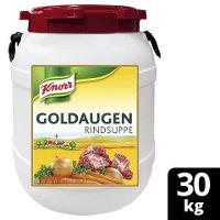 Knorr Professional Goldaugen Rindsuppe 30 KG Fass - Knorr Goldaugen Rindsuppe – das österreichische Original.