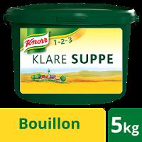 Knorr Professional Klare Suppe rein pflanzlich 5 KG Eimer - Knorr Klare Suppe mit nachhaltig angebautem Gemüse – ideal für vegane und vegetarische Gerichte.