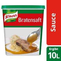 KNORR Bratensaft 6x1kg - Knorr Bratensaft –schnell zu mehr Saft mit vollem Geschmack.
