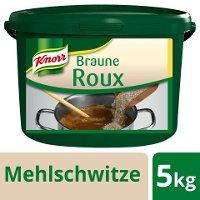 Knorr Braune Roux 5 KG - Knorr Roux – authentisch hergestellt, gelingt immer, ohne viel Aufwand.