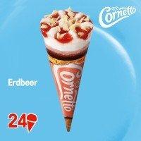 Cornetto Erdbeer 120 ml -