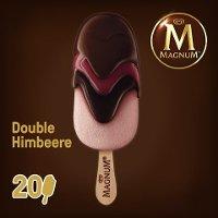 Magnum Double Himbeere Eis am Stiel 88 ml -