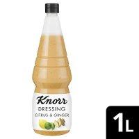 Knorr Dressing and More Citrus & Ginger 1 L - Knorr Dressing and More – einzigartige Zutatenkombinationen für aufregenden Geschmack.