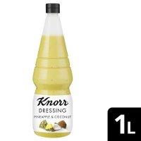 Knorr Dressing and More Pineapple & Coconut 1 L - Knorr Dressing and More – einzigartige Zutatenkombinationen für aufregenden Geschmack.