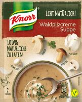 Knorr Echt Natürlich Waldpilzcreme Suppe 2 Portionen -