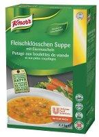 Knorr Fleischklösschen Suppe mit Eiermuscheln 2,4 KG -