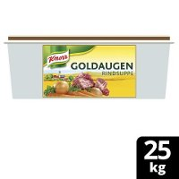 Goldaugen Rindsuppe 25kg Gastro - KNORR Goldaugen Rindssuppe - das österreichische Original.