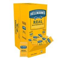 Hellmann's Real Mayonnaise 120x20ml Portionspackungen - Hellmann's REAL Mayonnaise - Hergestellt aus besten Zutaten.