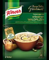 Knorr Kaiserteller Gourmet Erlesene Waldpilz Cremesuppe 2 Teller -