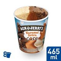 Ben & Jerry's Karamel Sutra Eis Becher 465 ml -