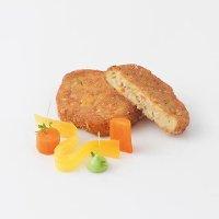 Caterline Karotten-Hirse-Medaillons 2,5 KG (50 Stk. à ca. 50 g) -