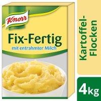 Knorr Kartoffel- Flocken Fix- Fertig mit entrahmter Milch 4 KG -