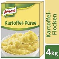 Knorr Kartoffel- Flocken- Püree 4 KG - Knorr Kartoffel-Flocken – die qualitative, schnelle und gelingsichere Basis für vielseitige Anwendungen.