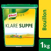 Knorr Klare Suppe rein pflanzlich 1 KG - Knorr Klare Suppe mit nachhaltig angebautem Gemüse – ideal für vegane und vegetarische Gerichte.