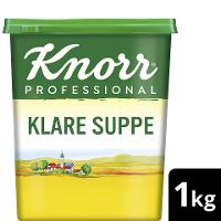 Knorr Professional Klare Suppe rein pflanzlich 1 KG - Knorr Klare Suppe mit nachhaltig angebautem Gemüse – ideal für vegane und vegetarische Gerichte.
