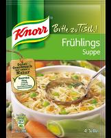 Knorr Bitte zu Tisch! Frühling Suppe 4 Teller -