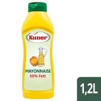 Kuner Mayonnaise 50% Fett 1,2L -