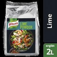 Knorr Lime Powder 500 g - Frischer Geschmack, konstante Qualität und immer verfügbar.