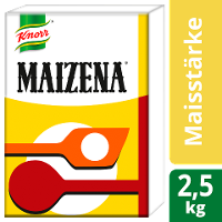 Maizena 2,5 KG - Maizena Maisstärke – perfekte Bindekraft bei glänzender Bindung.