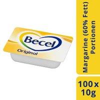 Becel Original Portionspackung 60% Fett 100x 10g -
