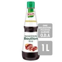 Knorr Professional Konzentrierte Bouillon Rind 1 L - Abrunden in Perfektion: KNORR PROFESSIONAL Konzentrierte Bouillons und Fonds.