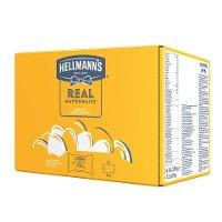 Hellmann's Mayonnaise - Beutel für Dispenser 3 x 2.25 KG - Hellmann's REAL Mayonnaise  – authentischer Mayo-Geschmack seit 1913.