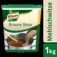 Knorr Roux Braune Mehlschwitze 1 KG - Knorr Roux – authentisch hergestellt, gelingt immer, ohne viel Aufwand.