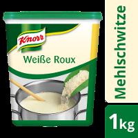 Knorr Roux Weisse Mehlschwitze 1 KG - KNORR Roux - authentisch hergestellt, gelingt immer.