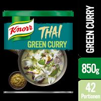 Knorr Thai Green Curry Paste 850 g - Authentische Produkte mit Zutaten aus Thailand.