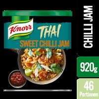 Knorr Thai Sweet Chilli Jam 920 g - Authentischer Thai-Geschmack in einem Produkt.