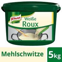 Knorr Weiße Roux 5 KG - Knorr Roux – authentisch hergestellt, gelingt immer, ohne viel Aufwand.